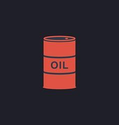 Oil barrels computer symbol vector