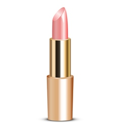 pink lipstick vector image