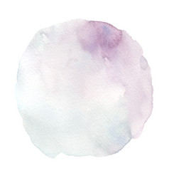purple and blue gradient stain watercolor brush vector image