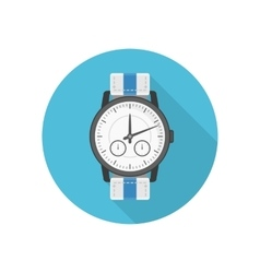 Wrist watches icon vector image