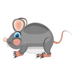 Cartoon by sulphur of the rat vector image