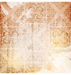 grungy wallpaper vector image vector image