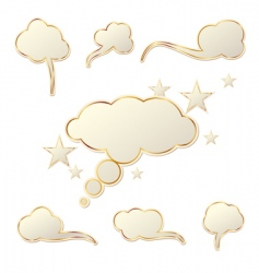 different tags vector image