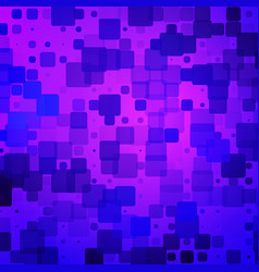 Purple blue pink rounded tiles background vector