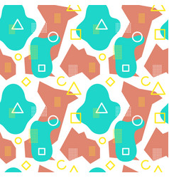 abstract modern trendy style hipster geometry vector image
