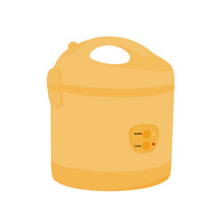electric rice cooker icon vector image