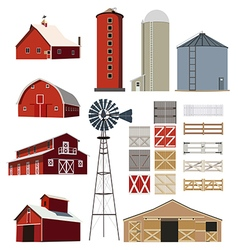 farm 01 vector image