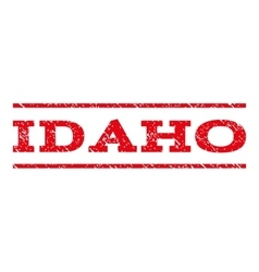 Idaho Watermark Stamp vector image