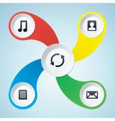 Multimedia Design Elements vector image