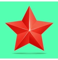 red 3d star premium The best reward vector image