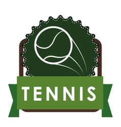 Tennis sport design vector image