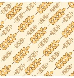 wheat seamless2 vector image