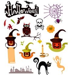 hellset vector image vector image