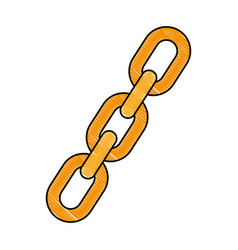 chain icon image vector image vector image
