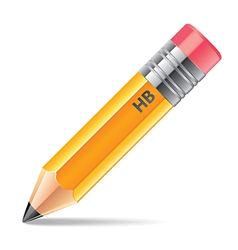 object pencil vector image vector image