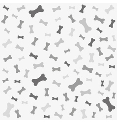 Bone for dog seamless texture vector