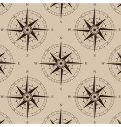 Navigation compass seamless vector image
