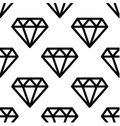 hipster diamond pattern abstract shapes seamless vector image