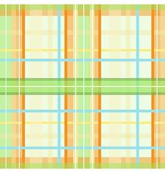 Modern spring plaid pattern vector image