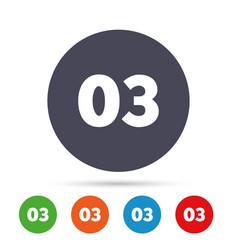 Third step sign loading process symbol vector