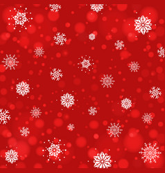 Abstract christmas background with snowflakes and vector