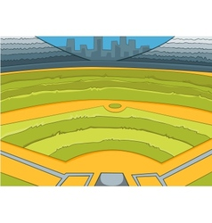 Baseball Stadium vector image