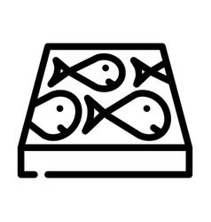 Children play room floor line icon vector