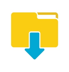 download icon 14 vector image