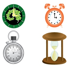 kind of clock vector image