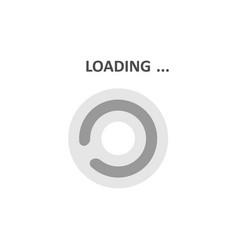 loading icons white background vector image