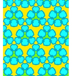 yellow blue green abstract geometric seamless vector image