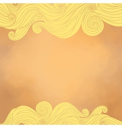 Abstract background with text field vector image vector image