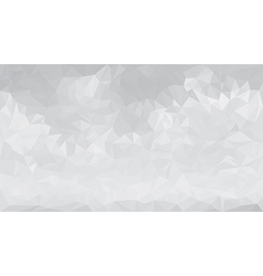 Abstract gray low polygon triangular background vector image
