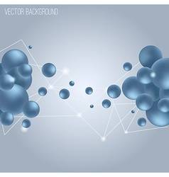 abstract science background vector image