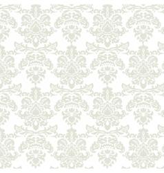 Baroque pattern ornament vector