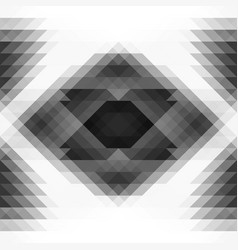 geometric seamless background vector image vector image