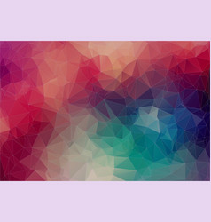 abstract 2d geometric multicolor background vector image