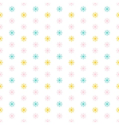 Abstract sun seamless pattern background vector image