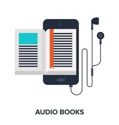 Audio books vector