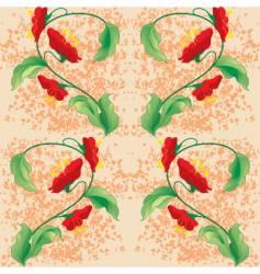 Floral backgorund vector
