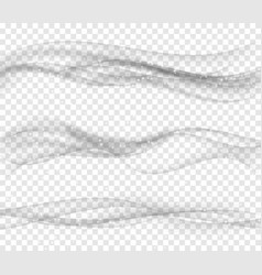 modern soft smoke gradient waves collection vector image