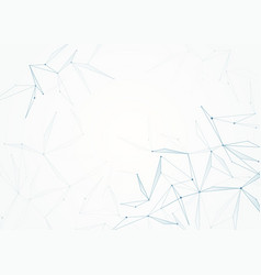 network background in blue color with lines and vector image