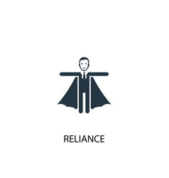 Reliance icon simple element vector