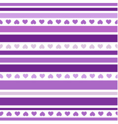 Seamless patterns with hearts fabric texture vector
