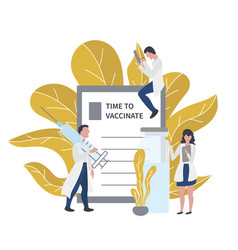 Time to vaccinate vector