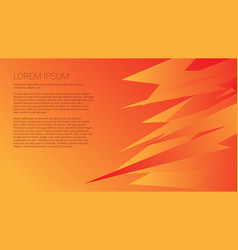 yellow-orange abstract background vector image