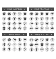 Big Set of Sport Icons vector image