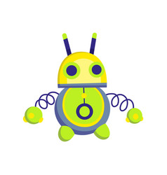 Children toy cute funny toy for little kid vector
