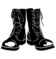 Combat Boots Vector Images (over 450)