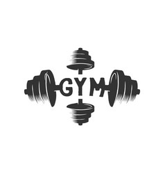 gym burble logo design inspiration vector image